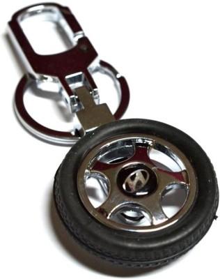 Kairos Hyundai Rotary Tyre Locking Key Chain