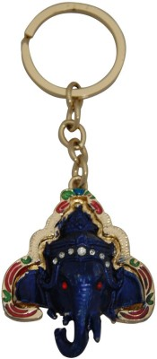 Aaradhi Divya Mantra Siddhi Vinayaka Right Sided Trunk Ganesha Head Locking Key Chain