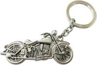 GCT Harley Davidson Bike Silver Metal Key Chain(Silver)