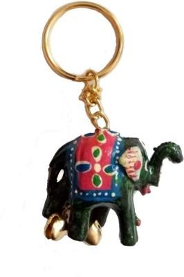 JaipurCraft elephant shape Key Chain