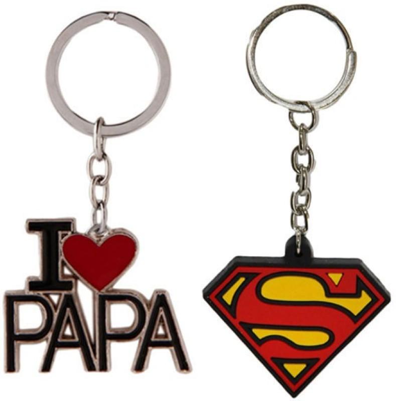 Alexus Papa And Superman Key Chain