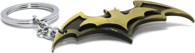 AA Retail Double Batman 3D Bronze Premium Metal Key Chain