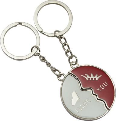 JLT Couple Love You Valentine Metal Key Chain