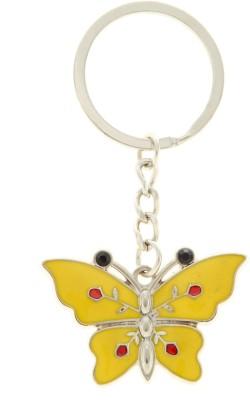 VeeVi Yellow Butterfly Key Chain Key Chain