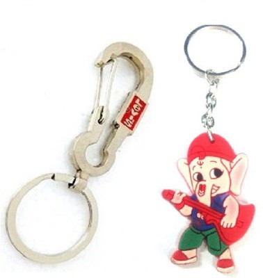 Ezone Full LEVIS Hook With Combo Bal Ganesh Key Chain