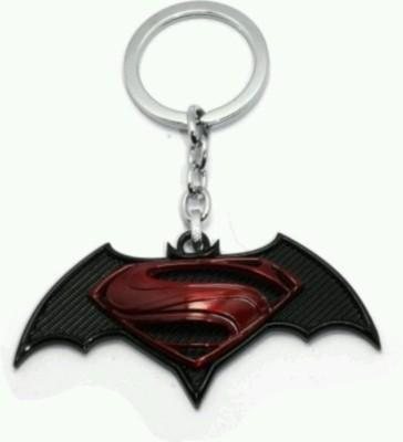 mapple superman logo metal Key Chain