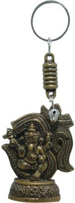 Aaradhi Divya Mantra Om Ganesha Locking Key Chain