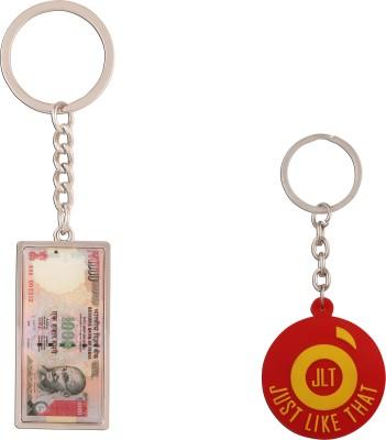 JLT 1000 Rupees Note Keychain Locking Key Chain
