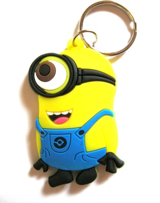 Optimum Deal Cute Despicable Me Minion Character Double Sided Key Chain
