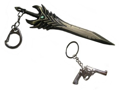 Optimum Deal Cute Sword Metal (SM6) Key Chain