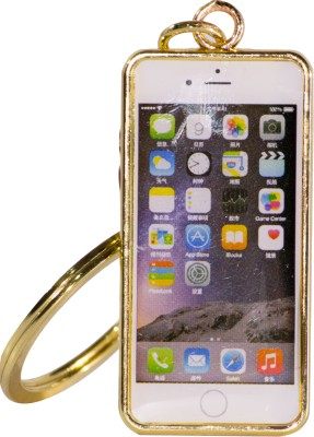 Oyedeal Iphone Shape Gold KYCN1683 Key Chain