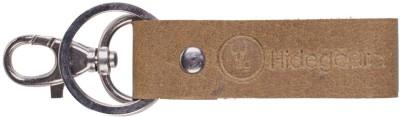 Hidegear Genuine Leather Keyring Locking Key Chain