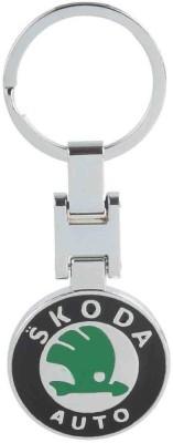 Kairos Beautiful Skoda Metallic Engraved Keychain Key Chain