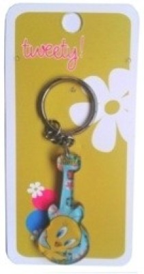 Warner Bros Tweety Guitar Acrylic Key Chain