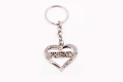 VeeVi Diamond Heart Best Friend Key Chain