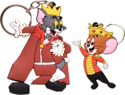 Oyedeal Royal Set of Tom and Jerry Key Chain