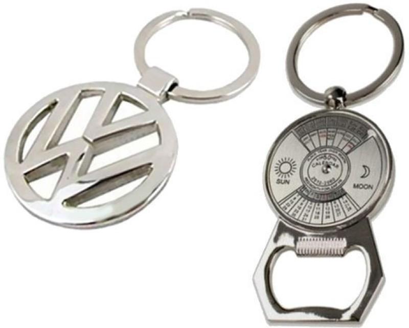 Alexus Volkswagon And Calender Key Chain