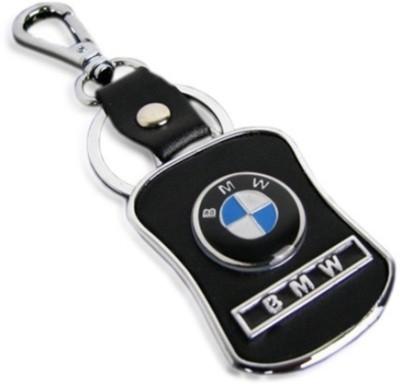 Oyedeal BMW Leather Metal Locking Key Chain