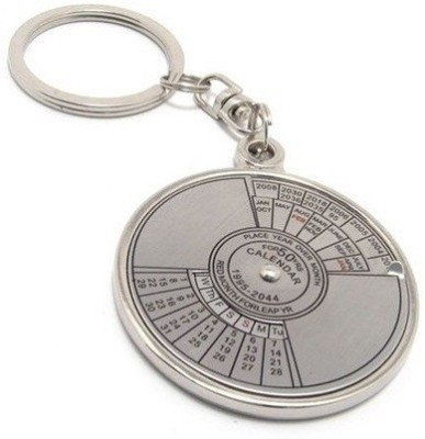 Divinext 50 Year Calendar Key Chain