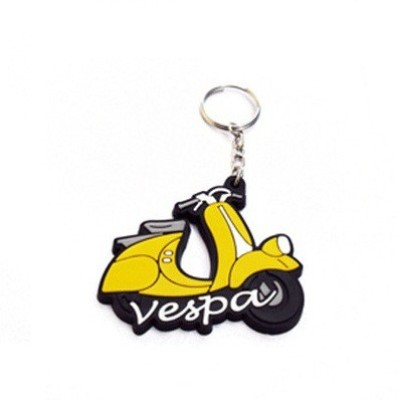 Chainz Vespa Scooter Silicon Key Chain