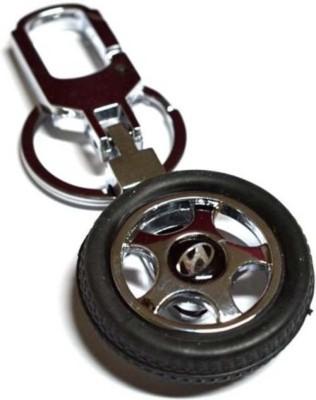 Amor Hyundai Rotary Tyre Key Chain Locking Key Chain