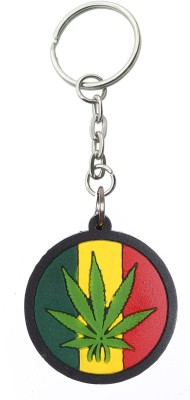 Confident Colorful non metal KC68 WEED Key Chain