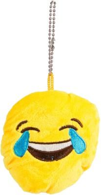 The Crazy Me Emoji ROFL Key Chain