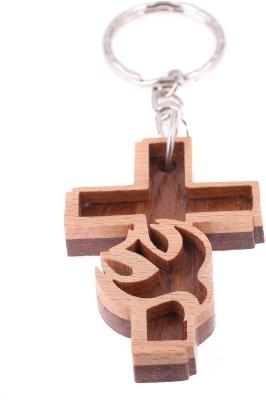 JM Jesus cross 2 Key Chain