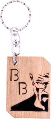 JM Breaking Bad Heisenberg (walter white) Key Chain