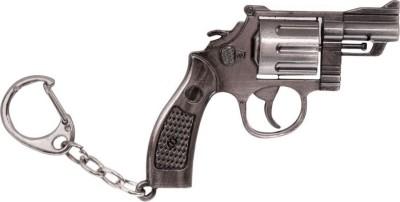 Anishop Heavy Duty Gun Pistol keyring Locking Key Chain(Multicolor)