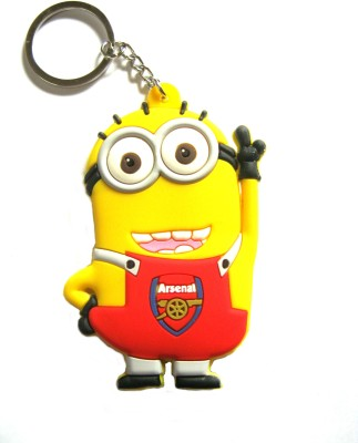 Optimum Deal Despicable Me Double Sided Minion Figure Rubber Key Chain