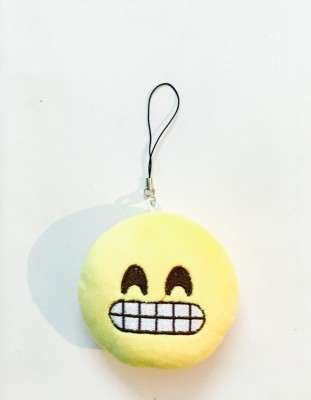 Emoji cheese emoji Locking Key Chain