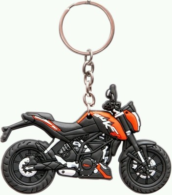 mapple duke rubber bike Key Chain
