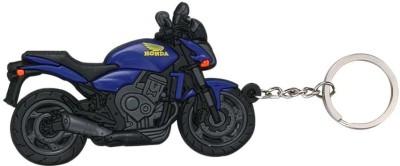 ShopeGift Blue Bike Key Chain