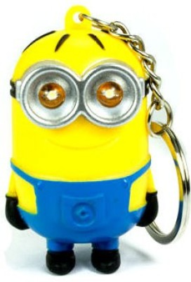 exciting Lives Minions LED Keychain Key Chain