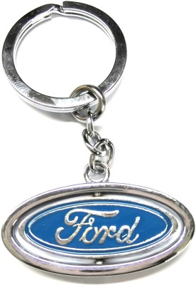 PARRK Ford Round Ovel Both Side Key Chain