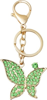 Super Drool Crystal Butterfly Locking Key Chain
