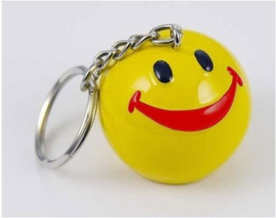 AND Retails Fun And Cartoon Smiley Face Keychain Key Chain