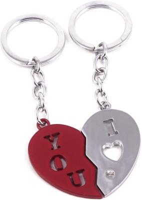 VeeVi I Love You Broken Heart Key Chain