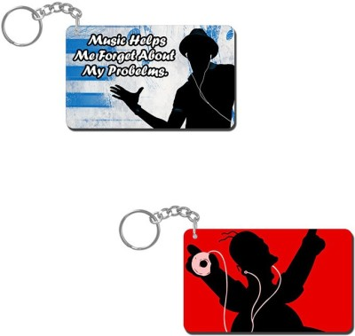 Lovely Collection Music Time Key Chain