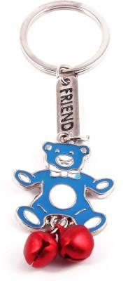 VeeVi Blue Teddy Friend Key Chain