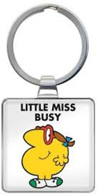 That Company called If LITTLE MISS BUSY KEYRING Key Chain