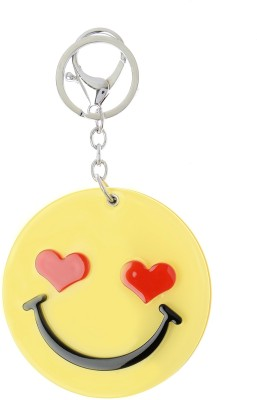 Kairos Smile Mirror Sheart Key Chain