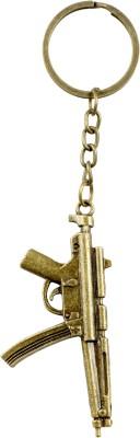 Chainz Metal Machine gun Keychain 0170 Key Chain