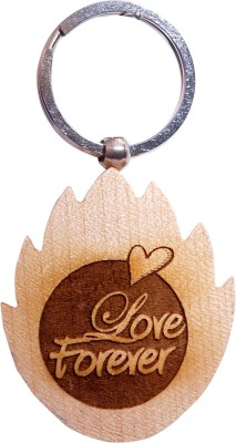 Oyedeal Express Love KYCN370 Wooden Engraved Key Chain