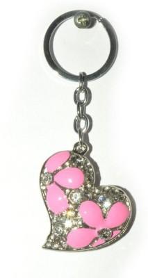 Odisha Bazaar Handbag Buckle Charms Accessories Pink Heart Key Chain