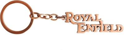 i-gadgets Royal Enfield Premium Embossed Bronze Key Chain