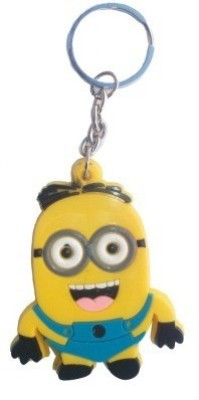 Abzr Cute Despicable Me Happy Minions Keychain Key Chain