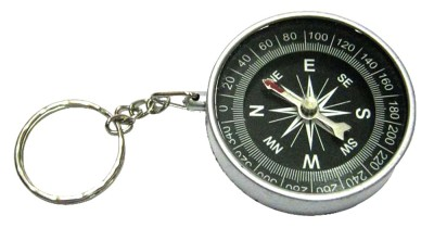 Target retail COMPASS KEYRING Key Chain
