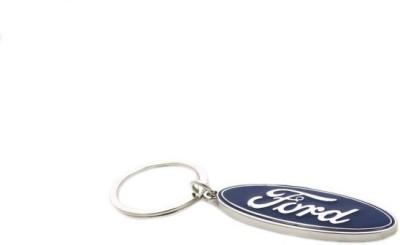 Ezone Ford Full Metal Car Logo Key Chain Carabiner